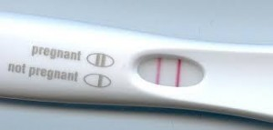 pregnancy test positive